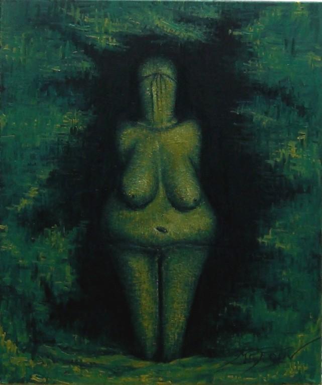 VENUS VESTONICE- CHECOSLOVAQUIA 46 X 55 cm