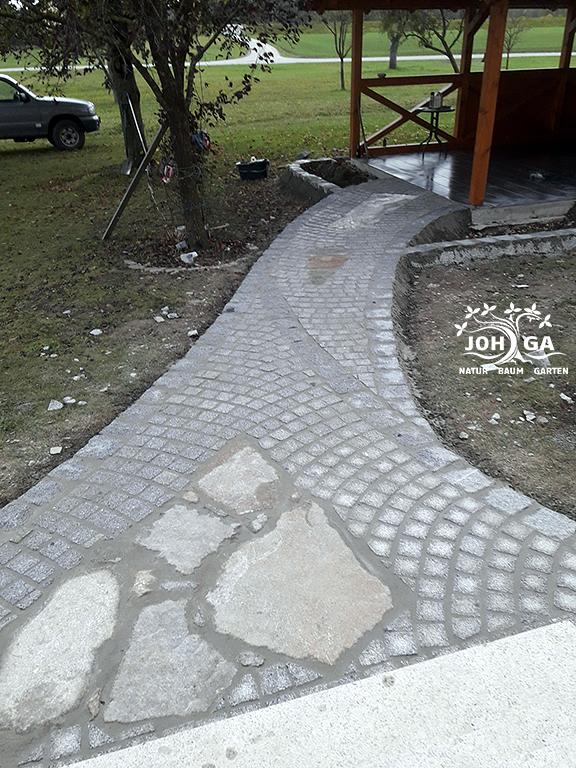 Zugang Gartenhaus
