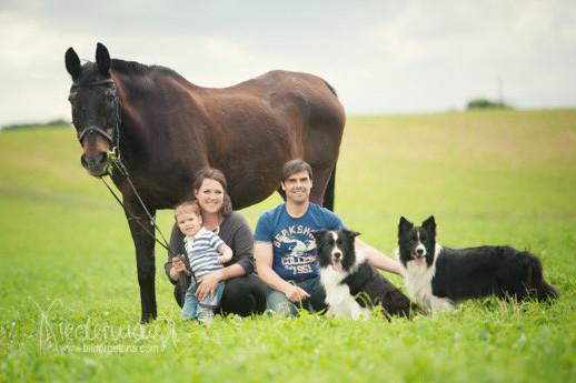 Sabine und Familie