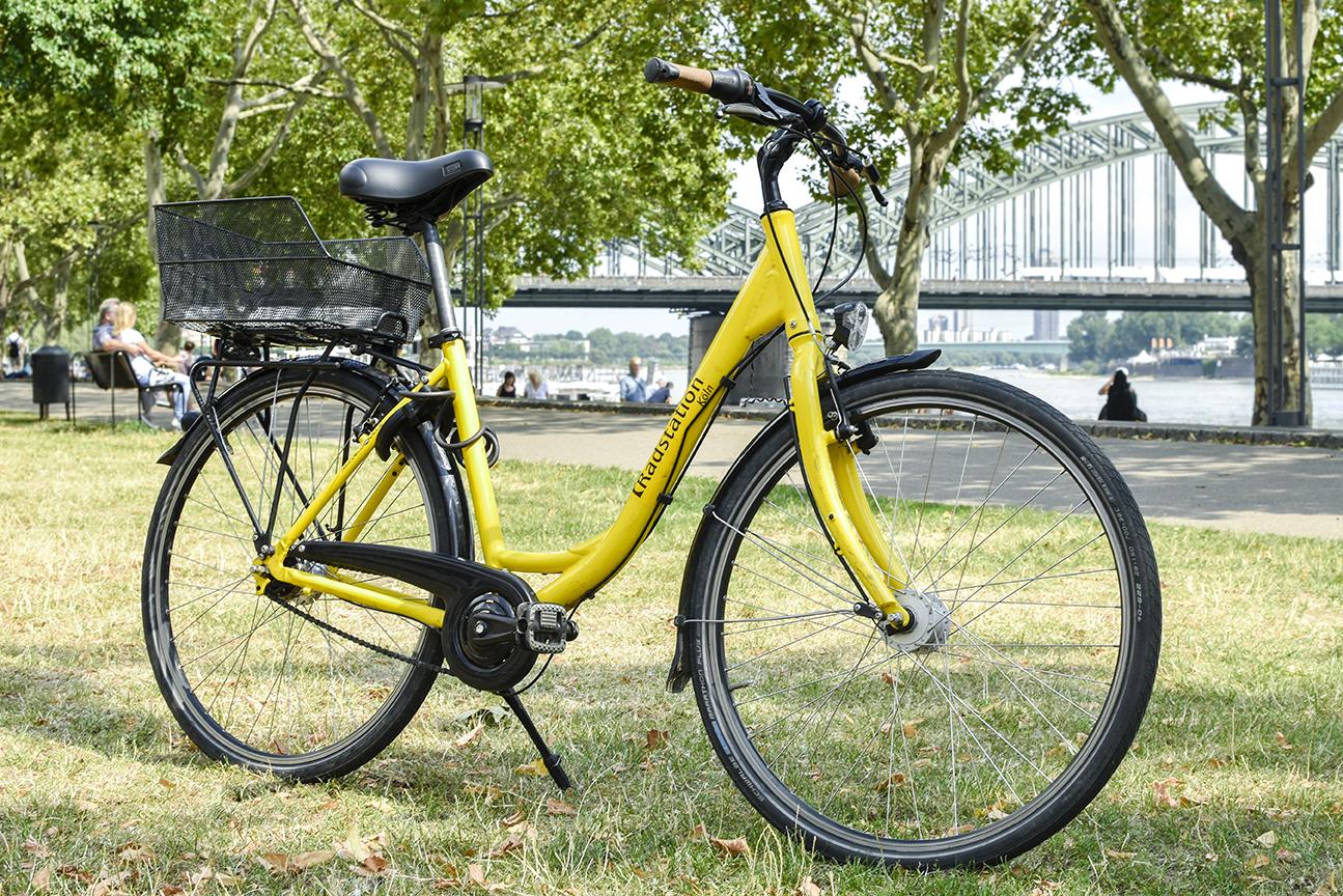 Citybike der Radstation Köln