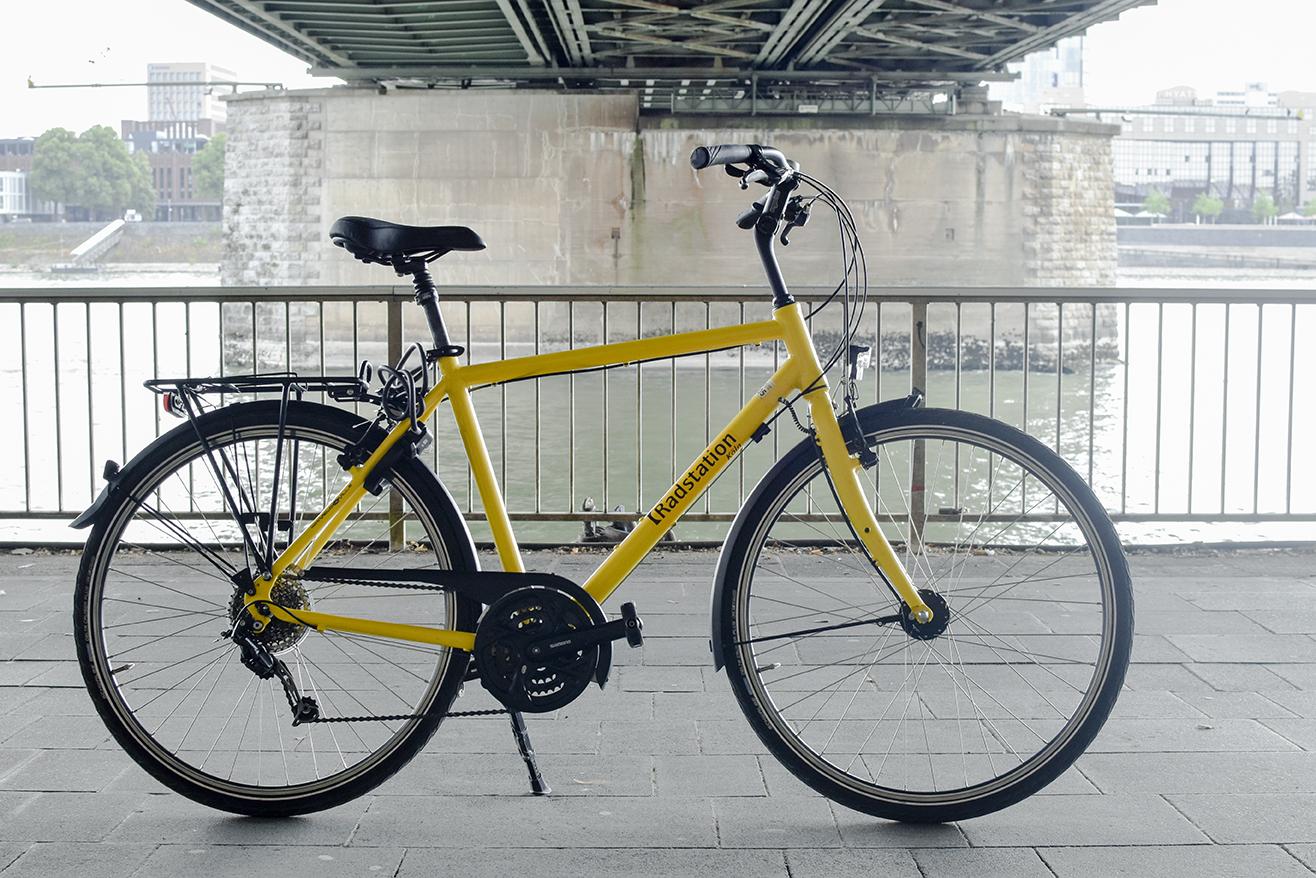 Trekkingbike der Radstation Köln