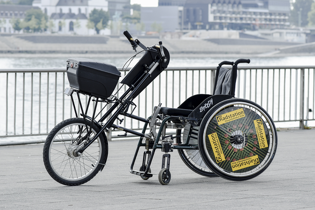 Hand-Bike of the Radstation Köln