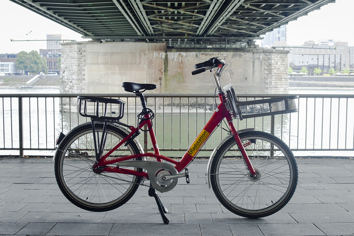 Carrier-Bike of the Radstation Köln