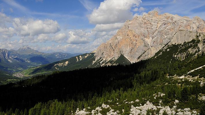 In gita per le montagne dell`Alto Adige