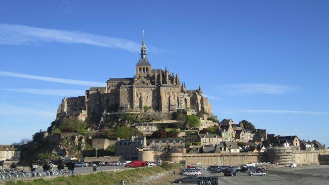 Le Mont-Saint-Michel Frankreich
