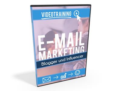 E-Mail Marketing für Blogger und Influencer Cover Videotraining