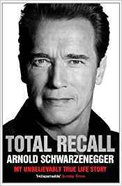 Das Cover von der Biografie von Arnold Schwarzenegger