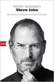Das Cover von der Biografie von Steve Jobs