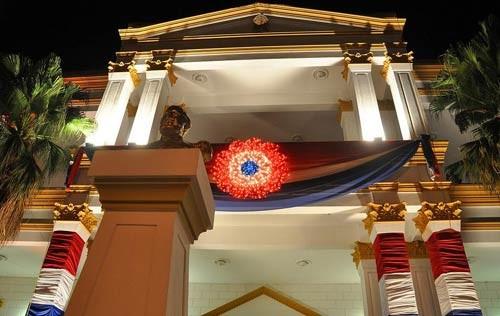 Das Eingangsportal von unserem Rathaus