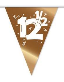 Vlaggenlijn 12 1/2 bronzen huwelijk 10 m € 2,50