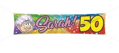 Spandoek Sarah 180x40 cm € 4,99