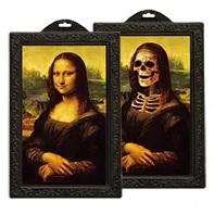 Foto holografisch Mona Lisa € 1,50 25x38 cm