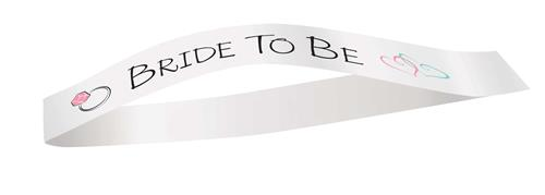 Sjerp Bride to be wit € 5,25