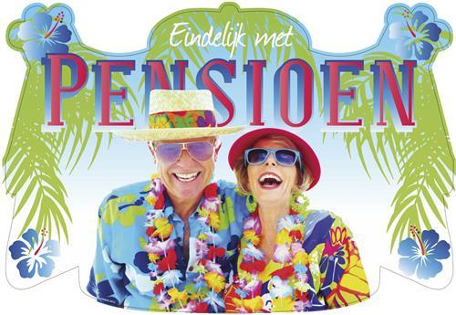Deurbord Pensioen € 2,00
