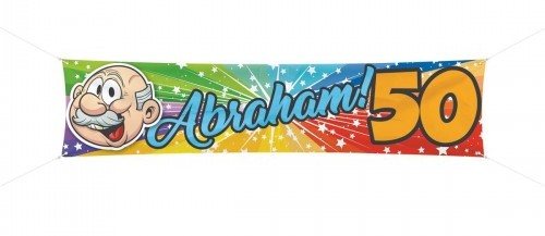 Spandoek Abraham 180x40 cm € 4,99