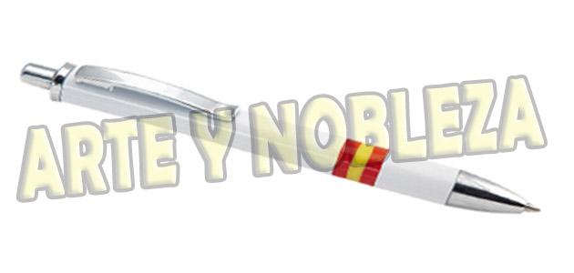 Bolígrafo bandera España