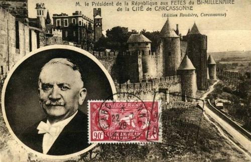 APNC - Carte postale - Gaston Doumergue