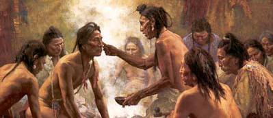 Los Creadores, la Tribu india Chippewa/Objiwa.