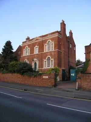 Erasmus Darwin House, Lichfield, England.
