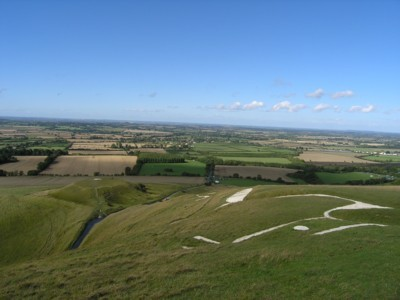 The Uffington White Horse & Dragon Hill