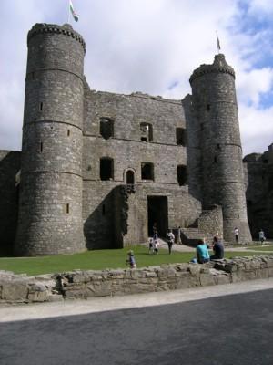 Harlech Castle - The Keep.