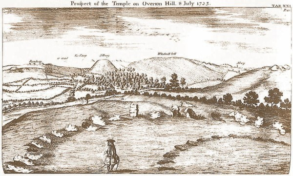 The Sanctuary drawn by William Stukeley, 1723. (http://commons.wikimedia.org)