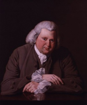 Erasmus Darwin by Joseph Wright of Derby, (1770).