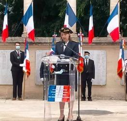 Elisa Basso, sous-préfète directrice de cabinet du préfet de l'Hérault le 25 septembre 2021 à Montpellier anocr34.fr