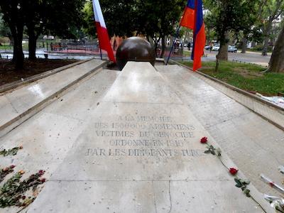 """Cérémonie """"Génocide arménien"""" (30 avril)"""