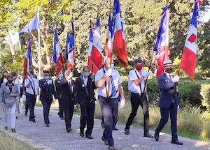 Cérémonies à Montpellier (30 août)