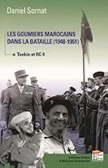 Couverture du livre de Daniel SORNAT Les goumiers marocains dans la bataille (1948-1951) anocr34.fr