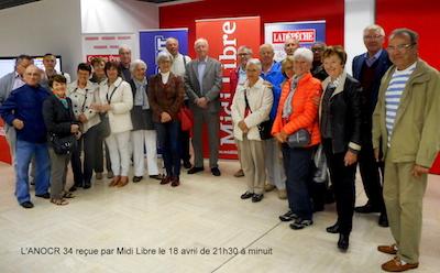 Visite Midi Libre (18 avril)
