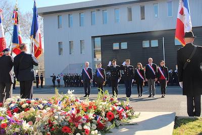 Cérémonie Gendarmerie (15 février)