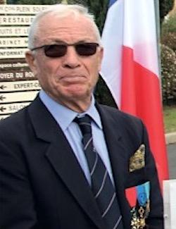Daniel BALLER, membre de l'ANOCR 34-12-48 mis à l'honneur par la commune de Clapiers le 14 juillet 2021 anocr34.fr