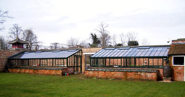 englisches Viktorianisches Gewächshaus massgescheidert von Hartley Botanic