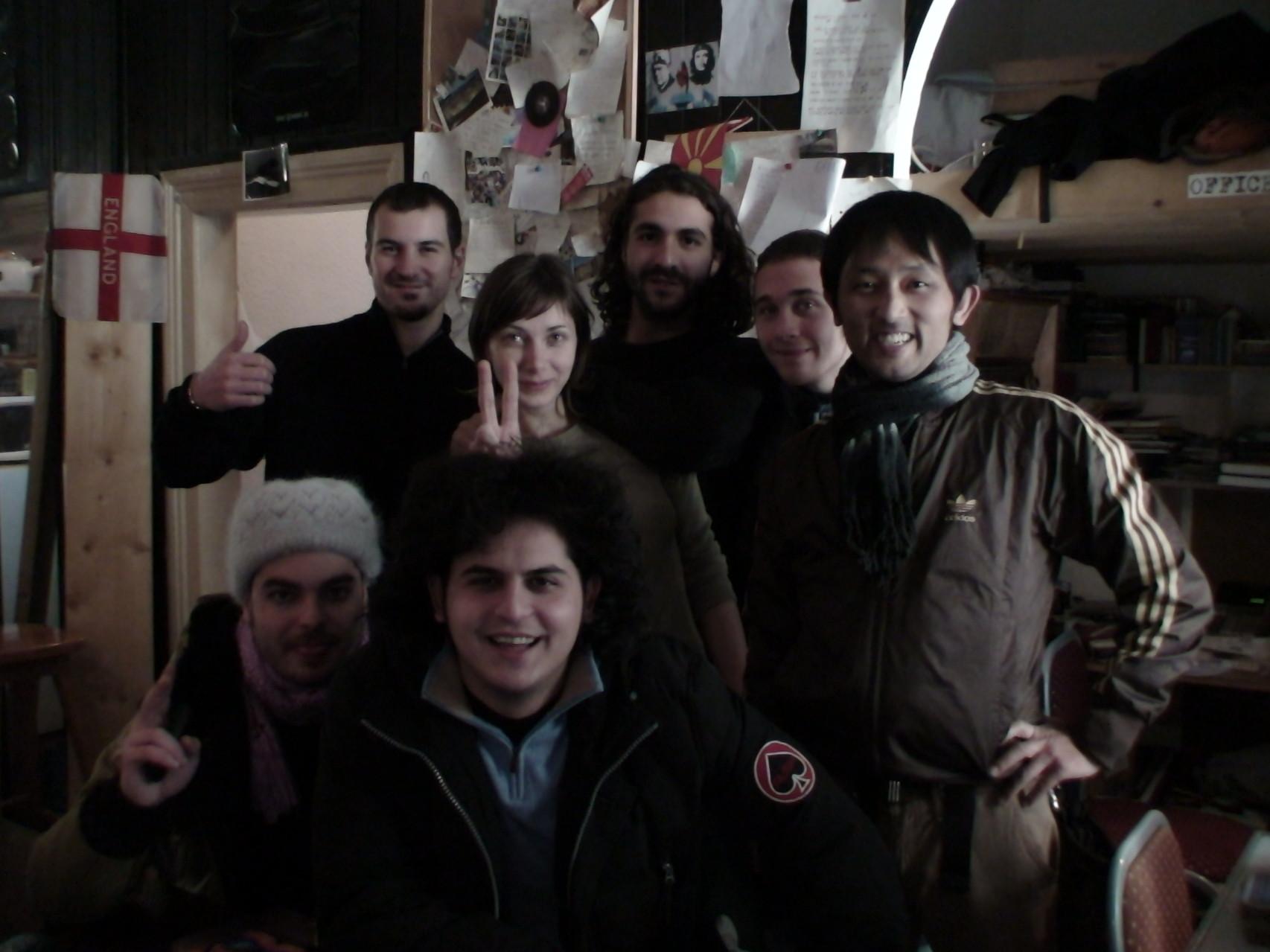 ベオグラードに着いたら着いたで、世界中のドミ仲間が大歓迎してくれたり・・・