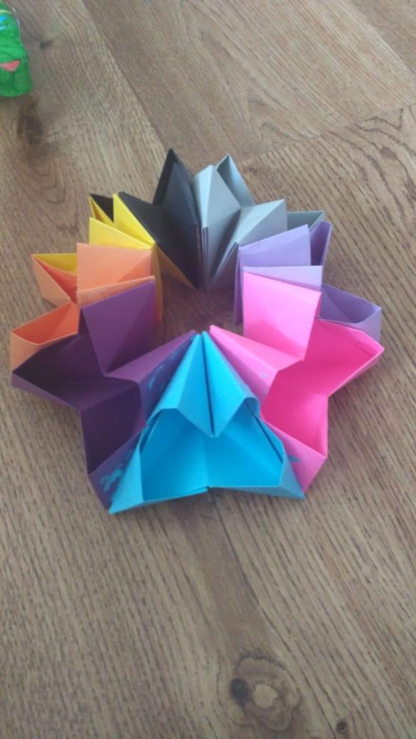 Алена Чистова. Оригами антистресс
