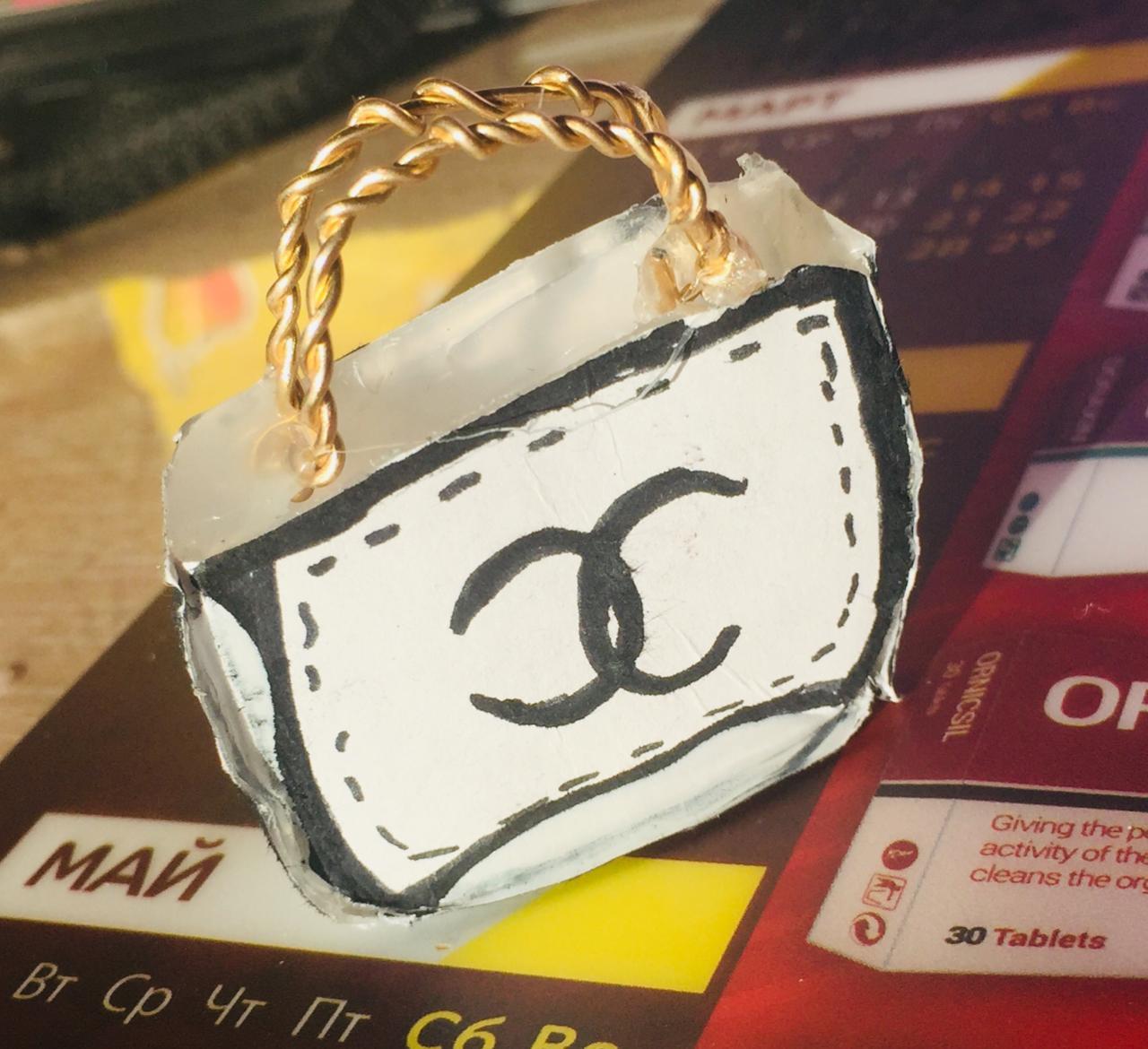 Кира Мартинкевич. Дизайн сумочки.