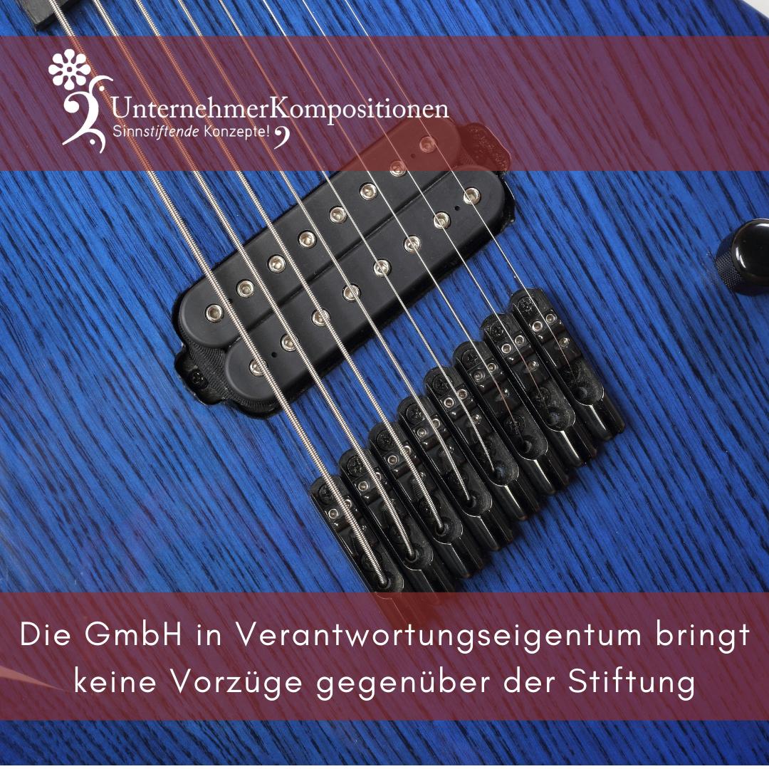 Die GmbH in Verantwortungseigentum bringt keine Vorzüge gegenüber der Stiftung
