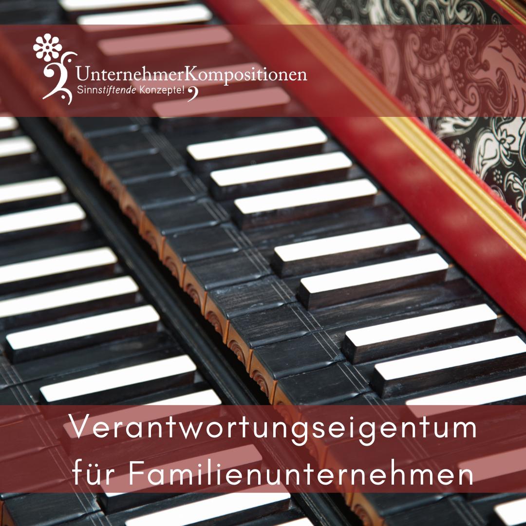 """GmbH in Verantwortungseigentum: Aktuelle Studie zur Bedeutung von """"Verantwortungseigentum"""" in Familienunternehmen"""