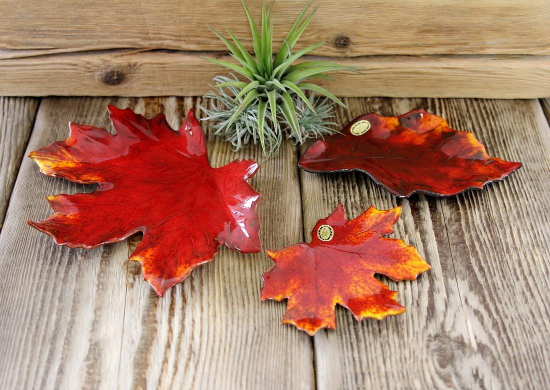 Herbstlaub, Laubblatt
