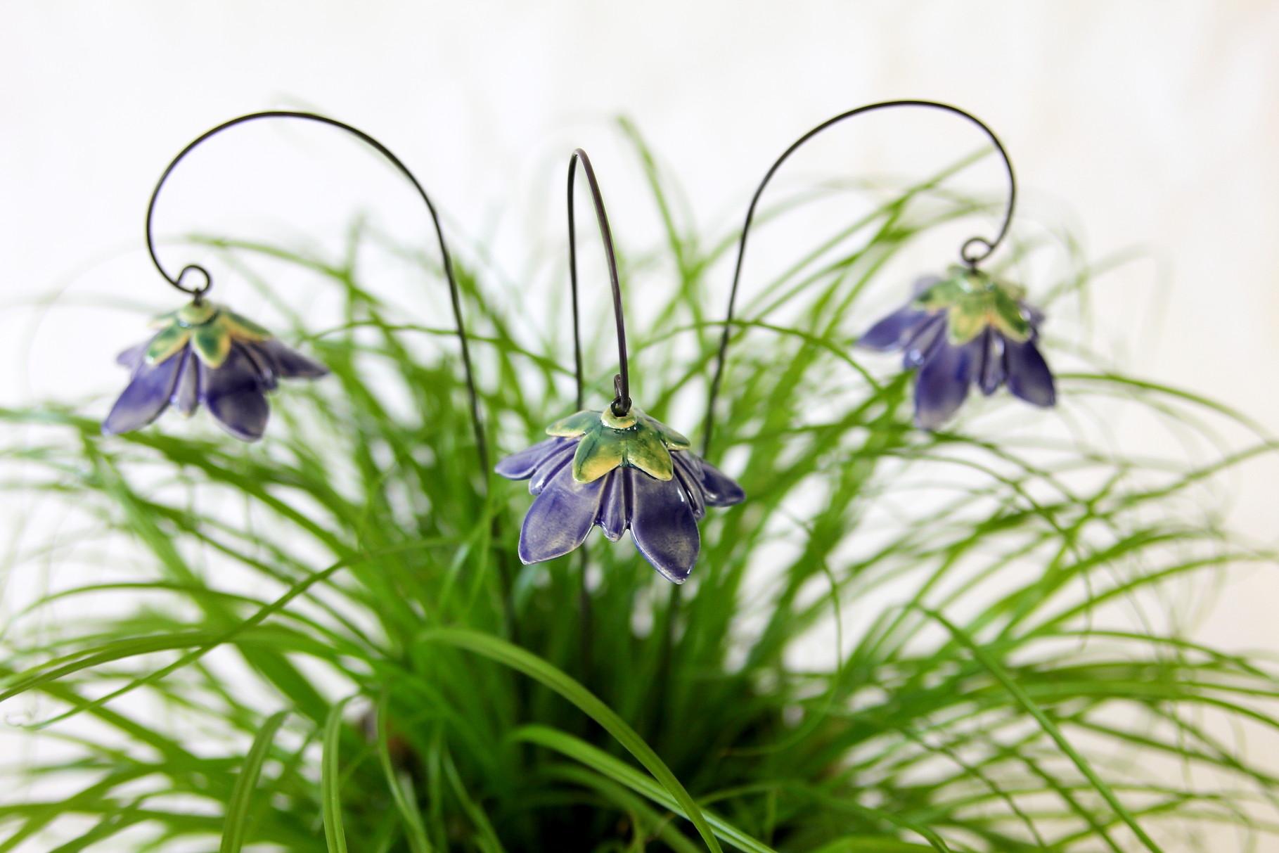 Blumen Stecker, Glockenblumen