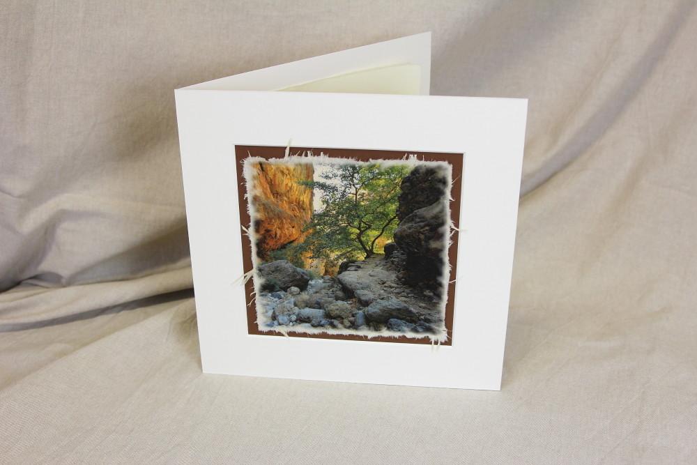 Artprint, Foto auf handgeschöpftem Papier