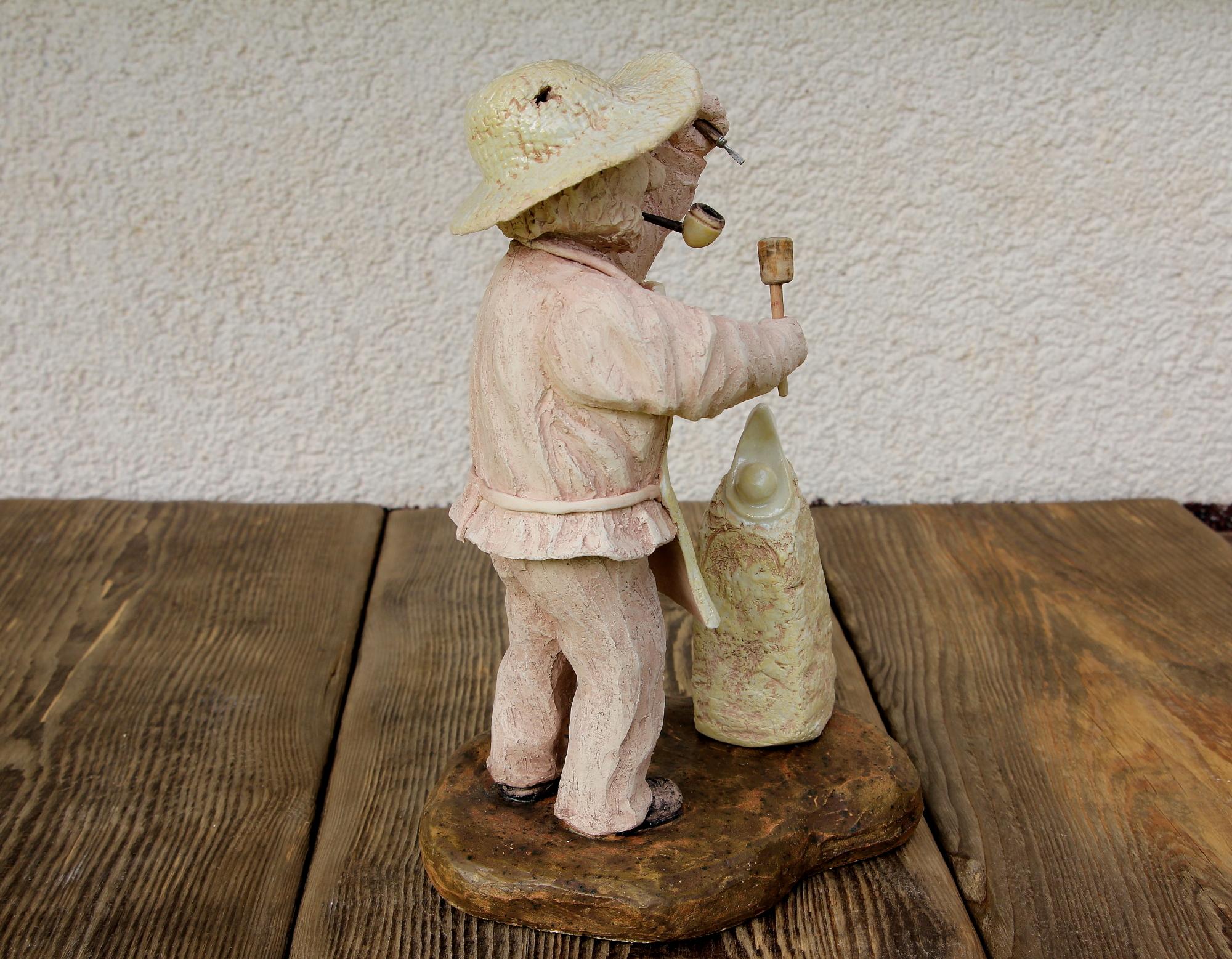 Plastik, Skulptur, Figur aus Keramik