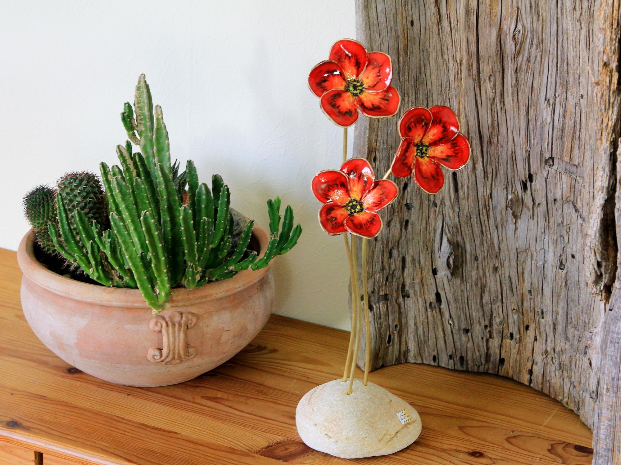 Blumen, Skulptur