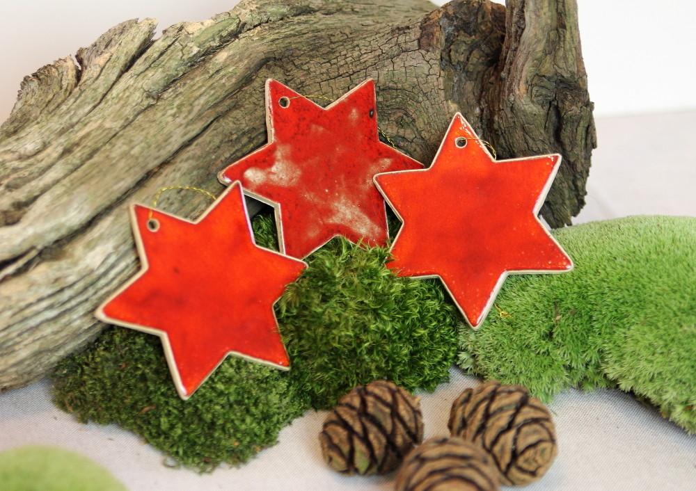 Stern, Weihnachtsanhänger