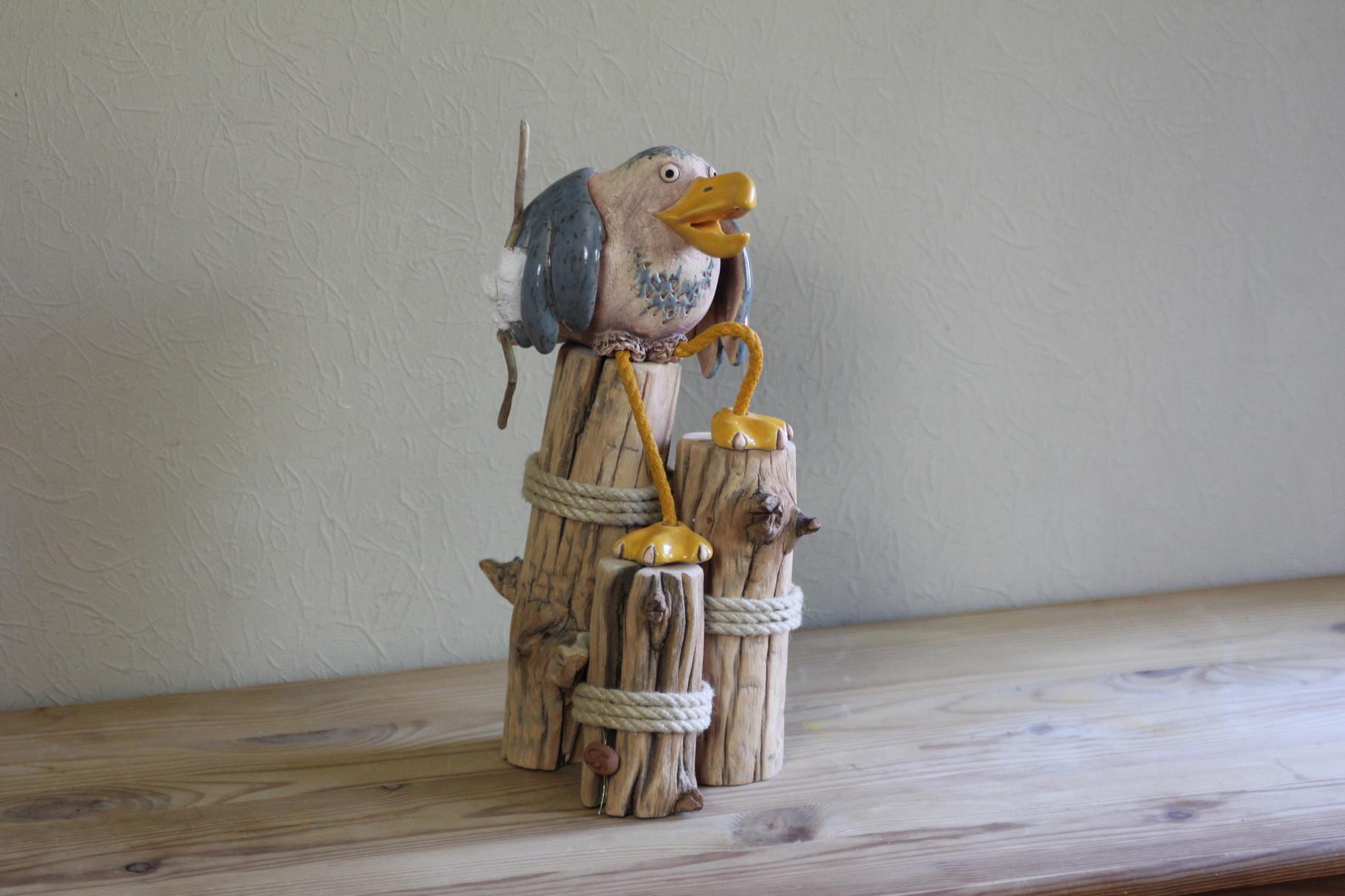 Vogel Skulptur