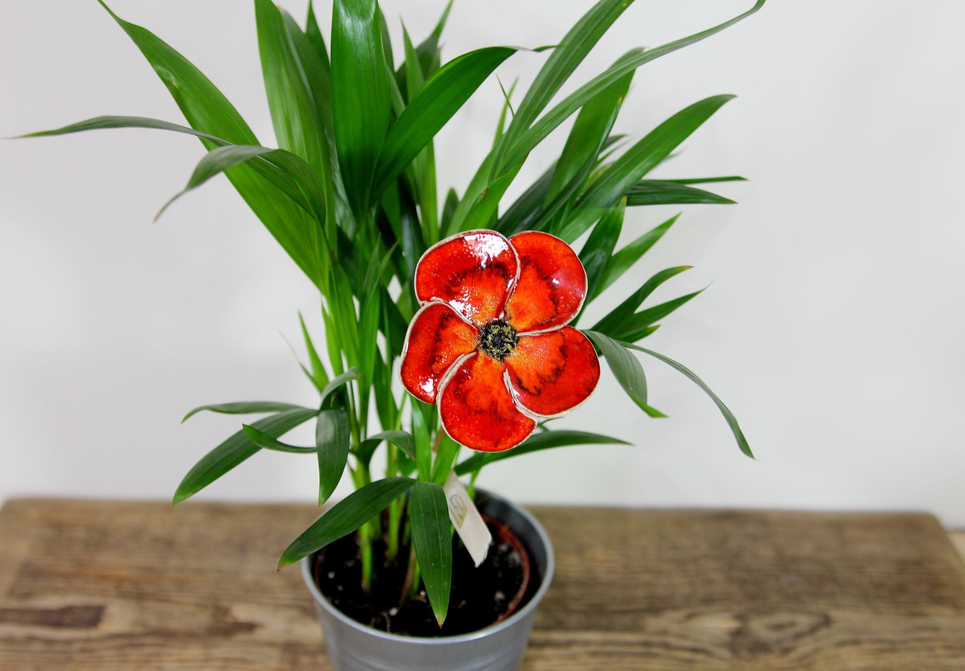 Mohnblumen, handgefertigtes Unikat