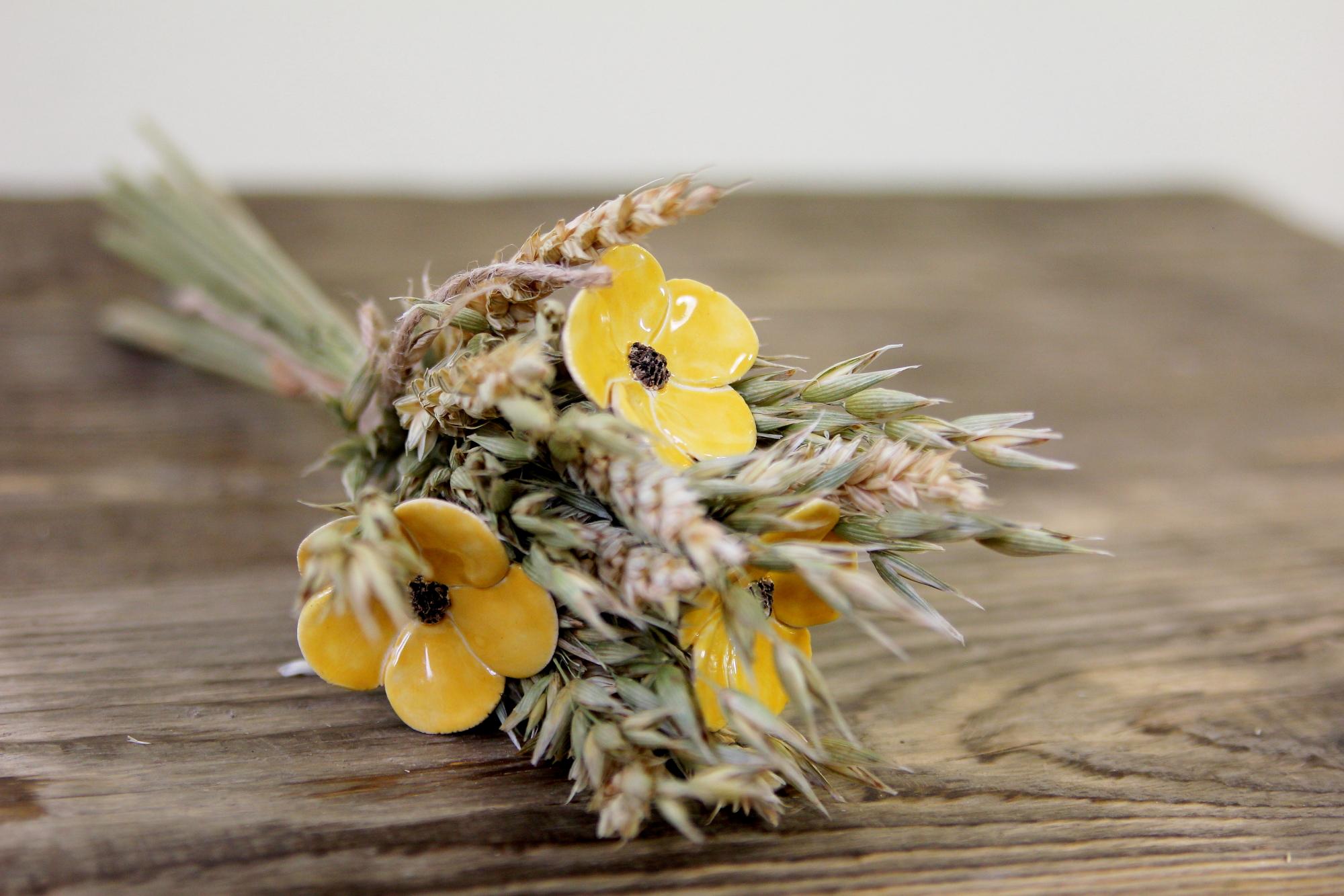 florale Tischdeko