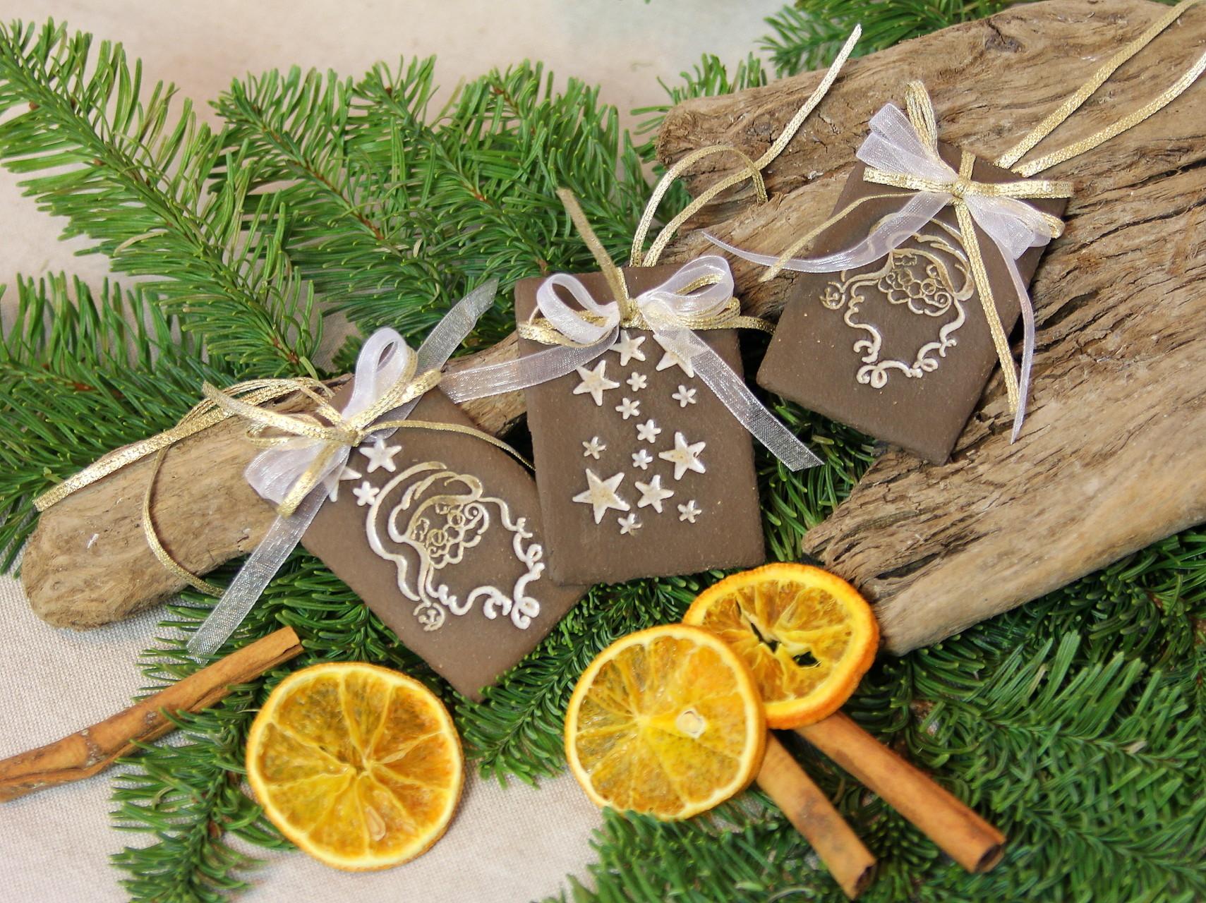 Weihnachten, Geschenkanhänger